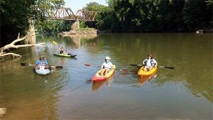 Canoe And Kayak Trail Limestone County