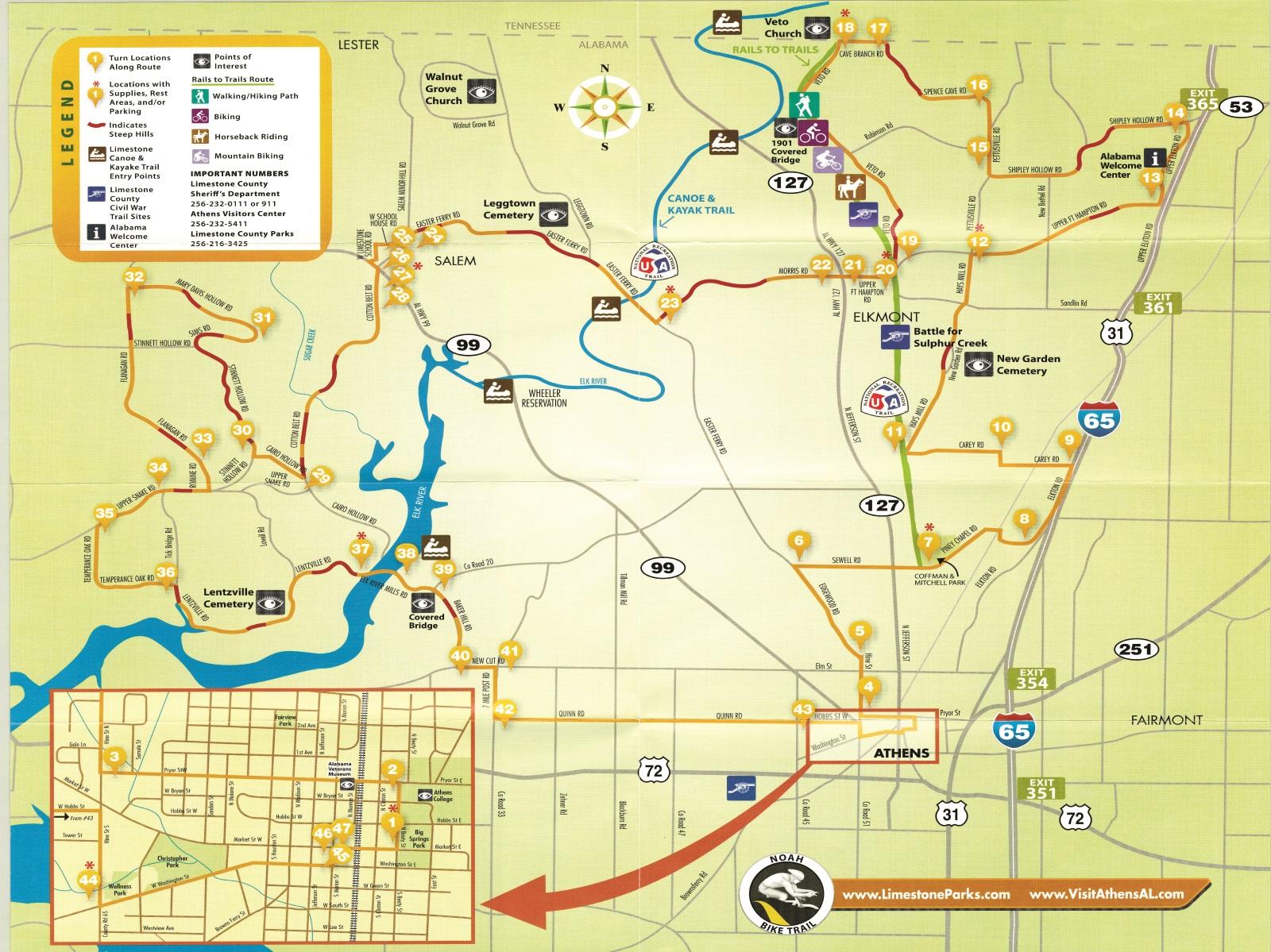 Bike Trail | Limestone County